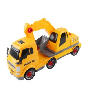 Set asamblare masina excavator fata