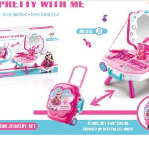 Set troler accesorii fetite