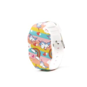 Ceas silicon copii unicorn