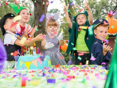 petreceri pentru copii în aer liber