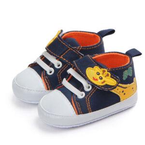 Pantofi bleumarin girafa