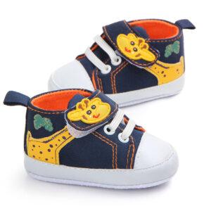 Pantofi bleumarin girafa profil