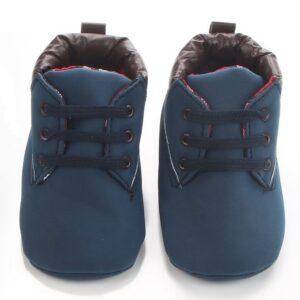 Pantofi sport bleumarin fata