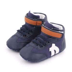 Papucei albastrii sport