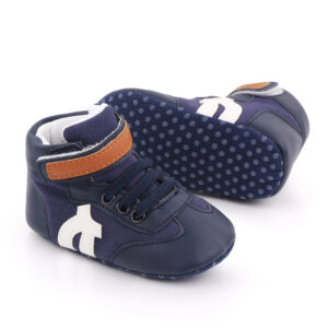 Papucei albastrii sport fata