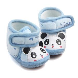 Papucei de casa model panda