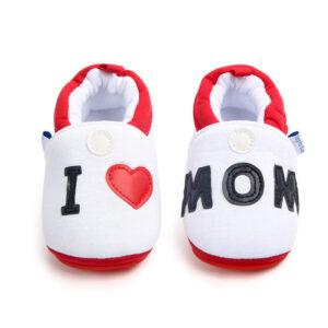 Papucei I love mom fata