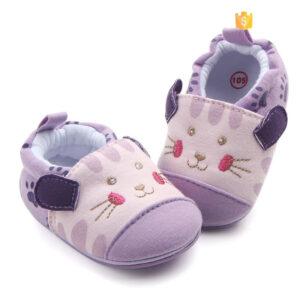 Papucei mov model pisicuta