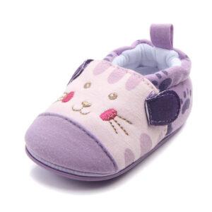 Papucei mov model pisicuta model
