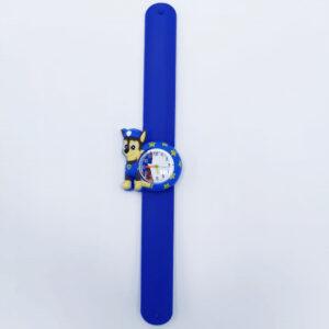 Ceas silicon albastru catel