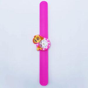 Ceas silicon roz catel
